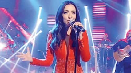 Öykü Gürman 'ABU TV Şarkı Festivali'nde Türkiye adına sahne aldı!