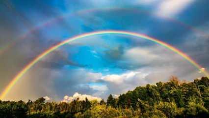 Rüyada gökkuşağı görmek nasıl yorumlanır? Rüyada gökkuşağının altından geçmek neye işaret?