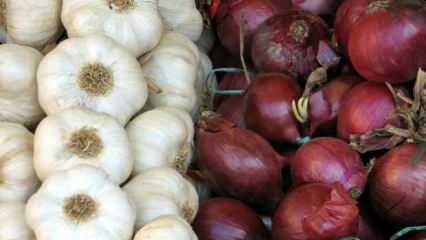 Soğan ve sarımsağın faydaları nelerdir? Vücudu toksinlerden arındıran sarımsak ve soğan kürü...