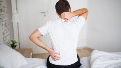 Bel ağrılarına dikkat! Tedavi edilmezse çok daha ciddi sorunlara yol açabiliyor