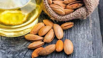 Tatlı badem yağı faydaları nelerdir? Cilt lekelerine iyi gelen badem yağı nasıl kullanılır?