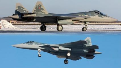 Seri üretimden çıkan ilk Su-57 teslim edildi! Çok konuşulacak 'Karadeniz' iddiası