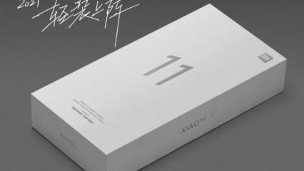 Xiaomi Mi 11 kutu içeriğinde büyük sürpriz