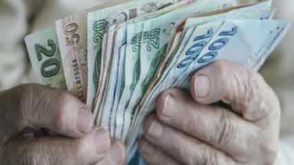 (2021) 65 yaş aylığı ne kadar oldu? Yaşlılık maaşına ne kadar zam yapıldı?