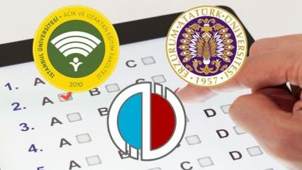 Açıköğretim sınavları internetten mi olacak? ATA AÖF, Anadolu Üniversitesi AUZEF sınav takvimi!