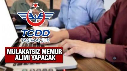 TCDD KPSS puanı ile mülakatsız 26 memur alım ilanı! Başvuru süresi sona eriyor!