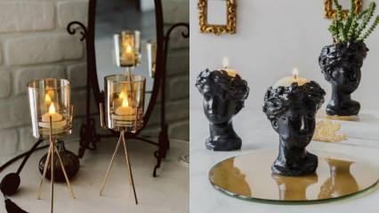 Evleriniz için en şık dekoratif mumluklar