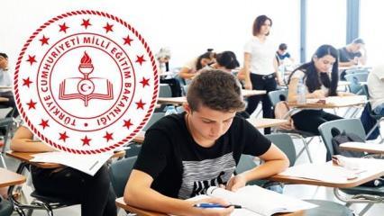 Lise 9,10,11 ve 12. sınıf öğrencileri yüz yüze sınavları nasıl olacak? MEB birinci dönem...