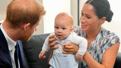Prens Harry ve Meghan Markle'ın ilk podcast'lerinin sürprizi Archie!