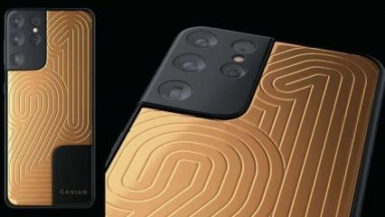 Samsung Galaxy S21 Ultra'nın 77 bin dolarlık versiyonu duyuruldu