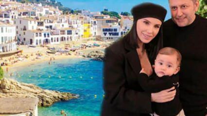 İspanya'dan dönen Gülşen-Ozan Çolakoğlu çifti Türkiye'deki otele yerleşti