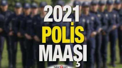 2021 Polis maaşları belli oldu! Kıdemlere göre zamlı polis maaşı ne kadar?