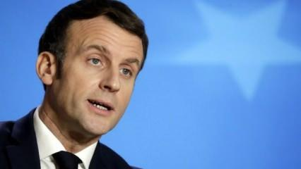 ABD'deki olaylara Fransız kalan Macron'dan ilk açıklama