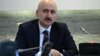Bakan Karaismailoğlu: Kanal İstanbul için sabırsızlanıyoruz