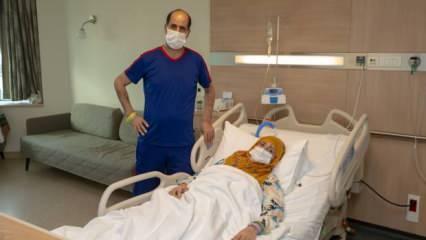 Bursa'da 28 yıllık eşine böbreğini bağışlayan adam: 'Gerekirse 2 böbreğimi de veririm'