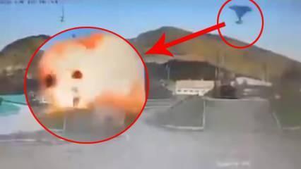 Yeni görüntü: İHA'lar Dağlık Karabağ Savaşı'nda S-300'leri böyle imha etti