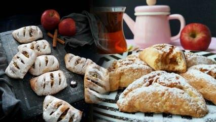 Elmalı kurabiye kilo aldırır mı? Diyet elmalı kurabiye tarifi ve kalorisi