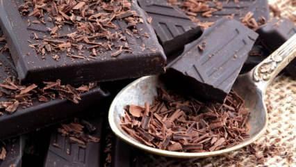 Endorfin hormonunu artıran: Bitter çikolatanın faydaları nelerdir? Bitter çikolata tüketimi...
