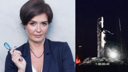 Türksat 5A uydusuna 'yapay gündem' diyen Halk TV sunucusu Özlem Gürses'e cevap