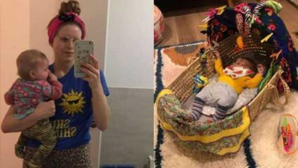 Harry Potter'ın yıldızı Jessie Cave'in üç aylık bebeği koronavirüse yakalandı