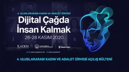 IV.Uluslararası Kadın ve Adalet Zirvesi 'Dijital Çağda İnsan Kalmak' temasıyla gerçekleştirildi