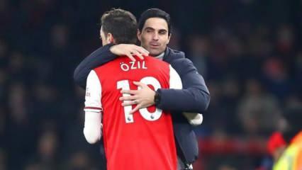 Arsenal'den Mesut Özil'e veda: Bir ayrıcalıktı!