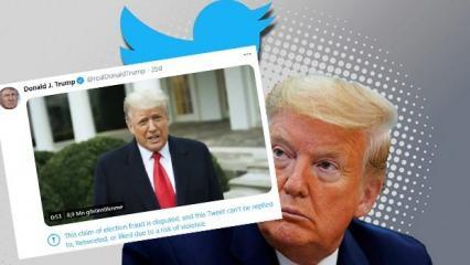 Son Dakika: Twitter'dan Trump'a sansür!