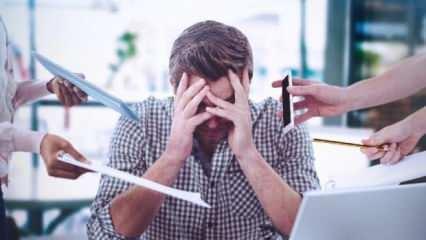 Stres, depresyon ve hareketsiz yaşamla ortaya çıkıyor! İnflamasyona neden olan besinler...