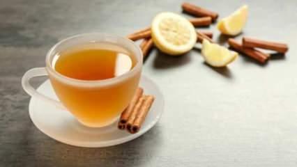 Tarçınlı su içmenin faydaları nelerdir? Ödem sökücü tarçınlı limonlu su zayıflatır mı?