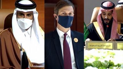 Katar ve Suudi Arabistan anlaştı! Katar'a uygulan Körfez ambargosu sona erdi