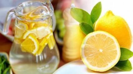 15 gün boyunca her sabah limonlu su içerseniz...