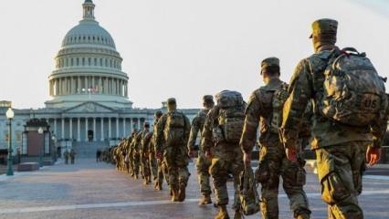 ABD'de iç savaş endişesi: Asker Kongre'ye girdi! Sayı 26 bine çıkacak