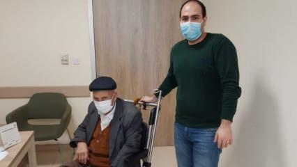 92 yaşında koronavirüsü yenen Mustafa Bulut: '1 ay hiç yemek yiyemedim'