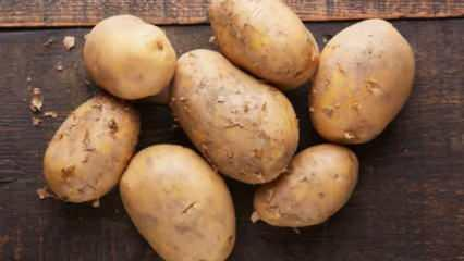 Patatesin mideye faydaları nelerdir? Patates suyu nasıl çıkarılır?
