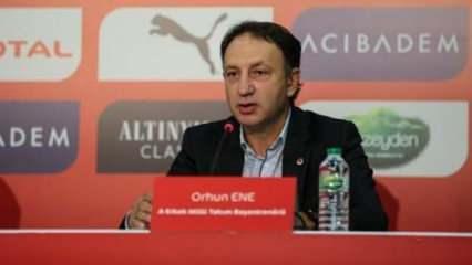 Orhun Ene: Bazı kulüplerden teklifler aldım