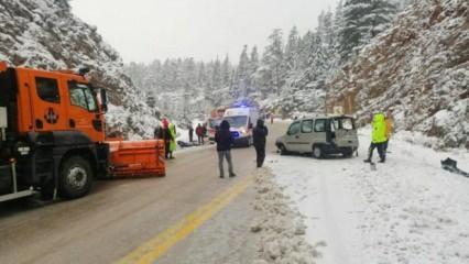 Akseki'deki feci kazada 3 kişi öldü