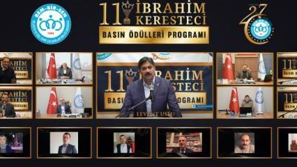 """Bem-Bir-Sen'in 27. Kuruluş Yıldönümünde 11.""""İbrahim Keresteci Basın Ödülleri"""" sahiplerini buldu"""