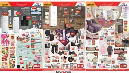 BİM 20 Ocak aktüel kataloğu! Mobilya, kışlık tekstil, züccaciye ve elektrikli ev aletlerinde..