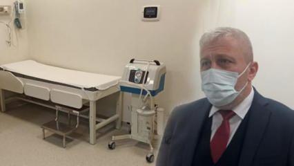 Bursa'daki kamu hastanelerinde 230 aşı uygulama odası oluşturuldu