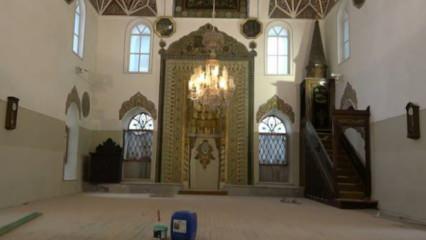 Bursa'nın en eski mabedi olan Orhan Camii restorasyon sonrası eski ihtişamına kavuşacak