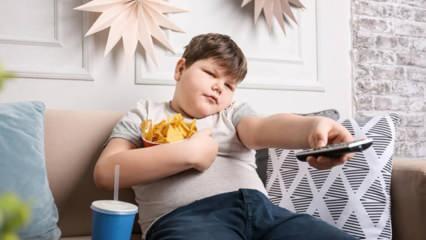 Çocuklarda hızlı kilo alma nasıl durdurulur? Çocuklarda obeziteyi önlemenin yolları