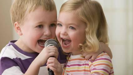 Çocukların kolay ve hızlı öğrenebileceği eğitici şarkılar