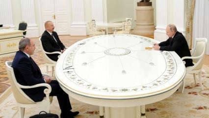 Dağlık Karabağ sonrasında Paşinyan ile Aliyev ilk kez bir aradalar!