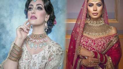 En güzel Hint takıları | 22 Ayar Hint kolye modelleri