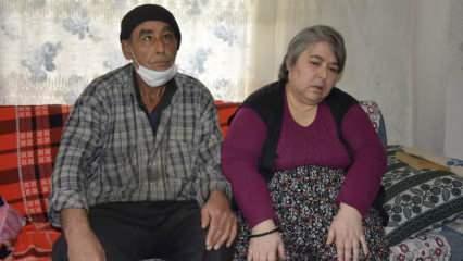 Burdur'da yaşayan engelli karı-koca her şeye rağmen hayata tutunuyor