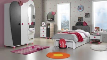 Genç odaları için dekorasyon ürünleri ve aydınlatma modelleri
