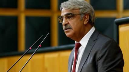 HDP'li Sancar'dan haddi aşan açıklama: Bizi yargılayanlar...
