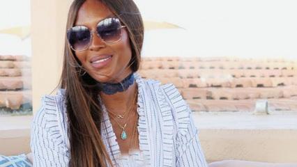 İngiliz model Naomi Campbell Kenya'nın uluslararası turizm elçisi oldu!