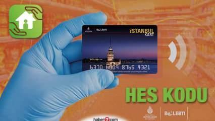 İstanbulkart HES kodu eşleştirmesi için son gün! HES kodu tanımlaması nasıl yapılır?