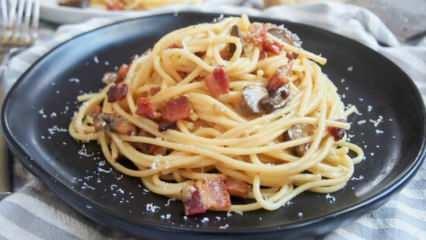 İtalyan usulü makarna nasıl yapılır? Spagetti Carbonara yapmanın püf noktaları